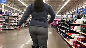 Bbw see through leggings