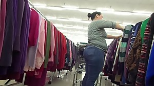 Mexican Milf Plumb Poke Out Ass In Jeans