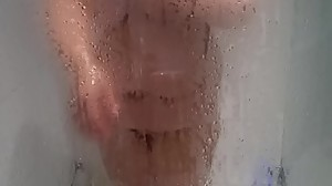 Bbw wife shower 2