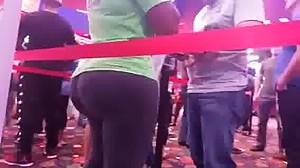 ASS IN THE MOVIE LINE