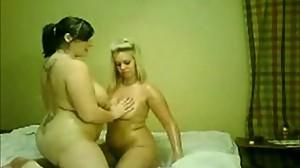 2 Horny Chubby Lesbians GF's..